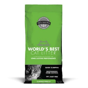 World's Best Cat Litter Clumping Formula 1