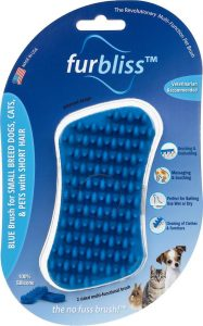Furbliss Multi-Use Deshedding and Massaging Short Hair Cat Brush